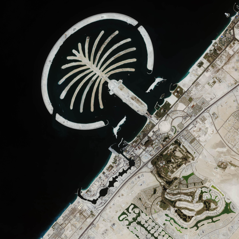 Palm Island Dubai Arabia Saudita Planetek Italia